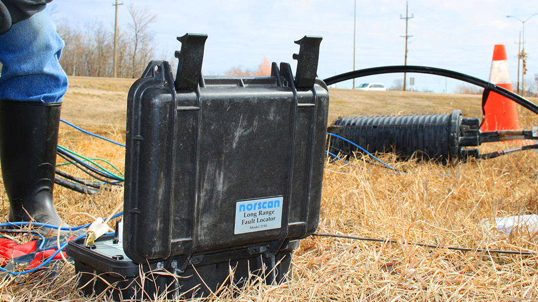 Underground Wire Fault Locator : How to locate underground cable faults faster norscan