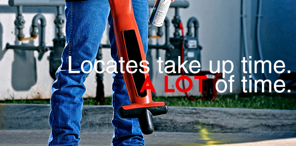 Locates take up time